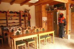 Sala wykładowa, gdzie odbywają się szkolenia ECC dla drwali i pilarzy